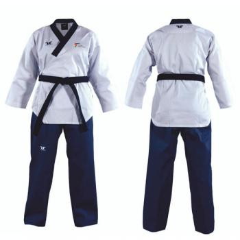 TUSAH Easy Fit Poomsae Uniform Female Dan, mit WTF-Zulassung