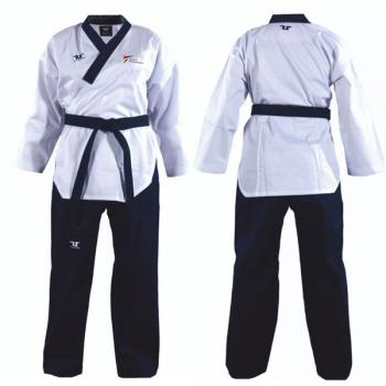 TUSAH Easy Fit Poomsae Uniform Male Dan, mit WTF-Zulassung