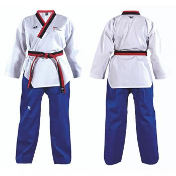 TUSAH Easy Fit Poomsae Uniform Male Poom, mit WTF-Zulassung